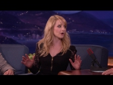 Melissa Rauch Loved Shopping For Her Nude Body Double - шоу Конана О'Брайена