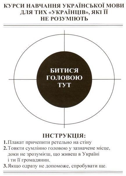 Інструкція і урок для вивчення української мови