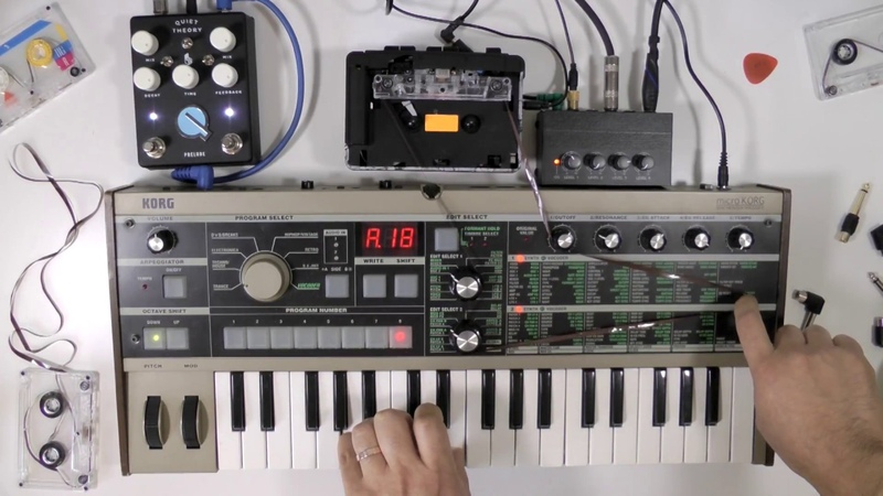 MICRO THEORIES | TAPE LOOP, MICROKORG, QUIET THEORY PRELUDE AMBIENT IMPROV