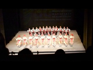 30 Międzynarodowe Warsztaty Folklorystyczne, koncert galowy - zespół Czawdar z Bułgarii, część 2
