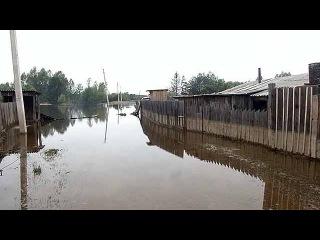 На Дальнем Востоке затоплены сотни домов, из Приамурья не уходит большая вода - Первый канал