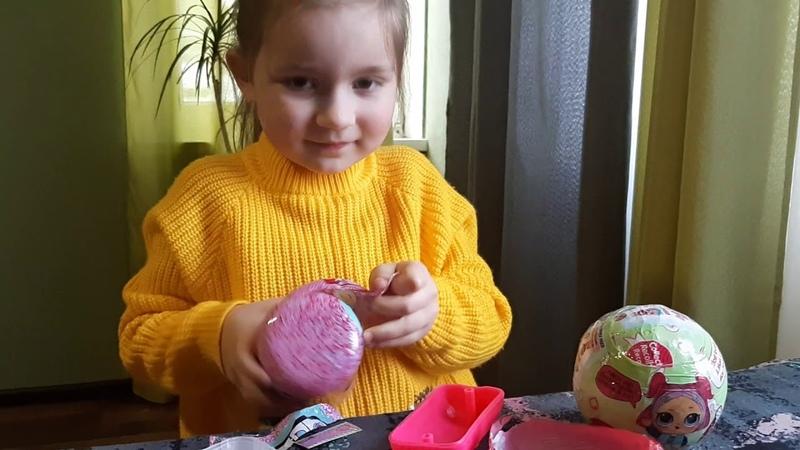 Лера ШОУ Распаковка ЛОЛ Куклы LOL