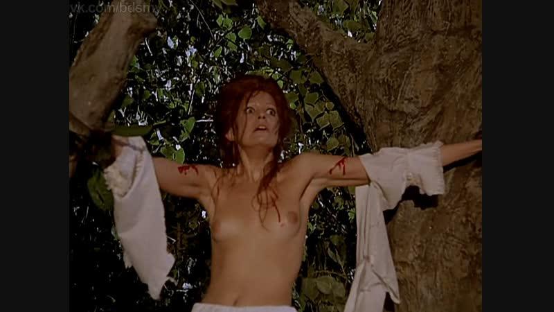 бдсм сцены(bdsm, бондаж, порка, сексуальное насилие) из фильма: La noche de los brujos(Ночь колдунов) - 1973 год
