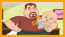 ✨✨✨SUPER DAD✨✨✨ ➡️CARING FOR KIDS \ FUNNY MULT-GAME FOR KIDS! DEVELOPING CARTOONS😁
