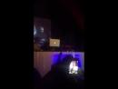 Andy Fletcher Depeche Mode DJ Set Beginn live in Bielefeld 30 Oktober 2015