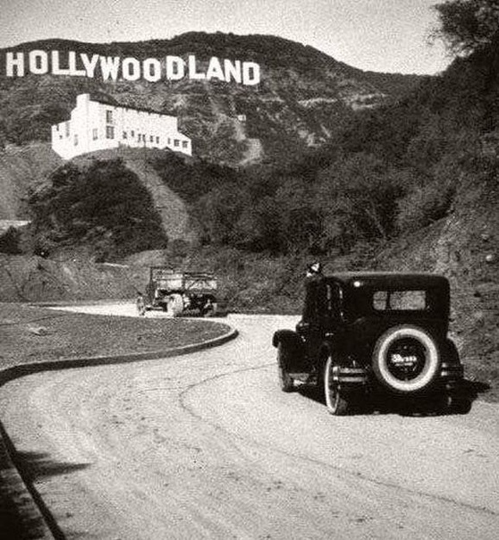 А вы знали, что раньше в надписи «Голливуд» было ещё четыре буквы Лос-Анжелес.США.