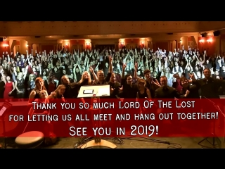 Lord Of The Lost Ensemble russian fan trip 2018