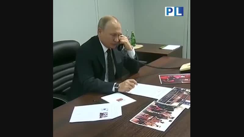 Владимир Путин позвонил неизлечимо больной девочке