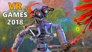 15 Upcoming VR Games in 2018 & 2019 | HTC VIVE, PSVR, OCULUS RIFT