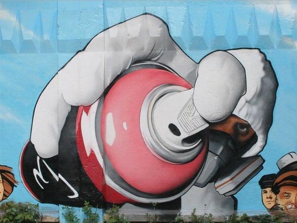 Краска для граффити MONTANA BLACK NEW 400 мл (Германия)
