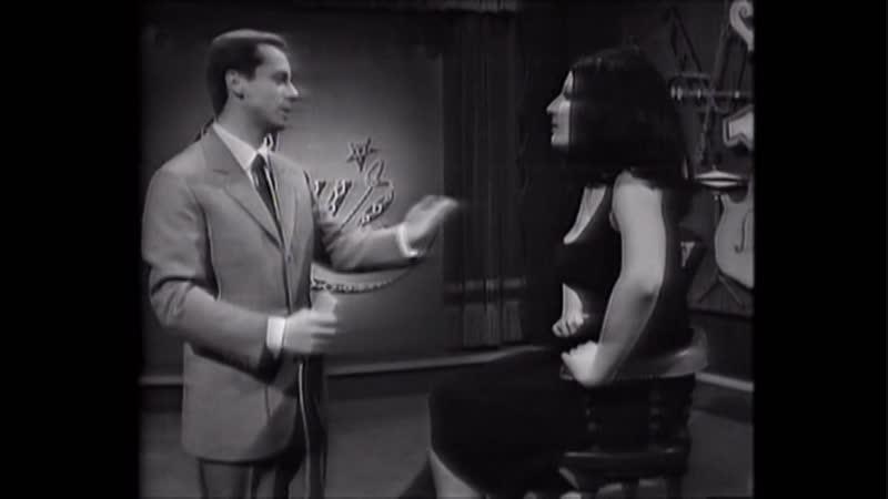 ♫ Mina Mazzini ♪ Quiz Musicale Con Johnny Dorelli - E' L'Uomo Per Me (1964) ♫