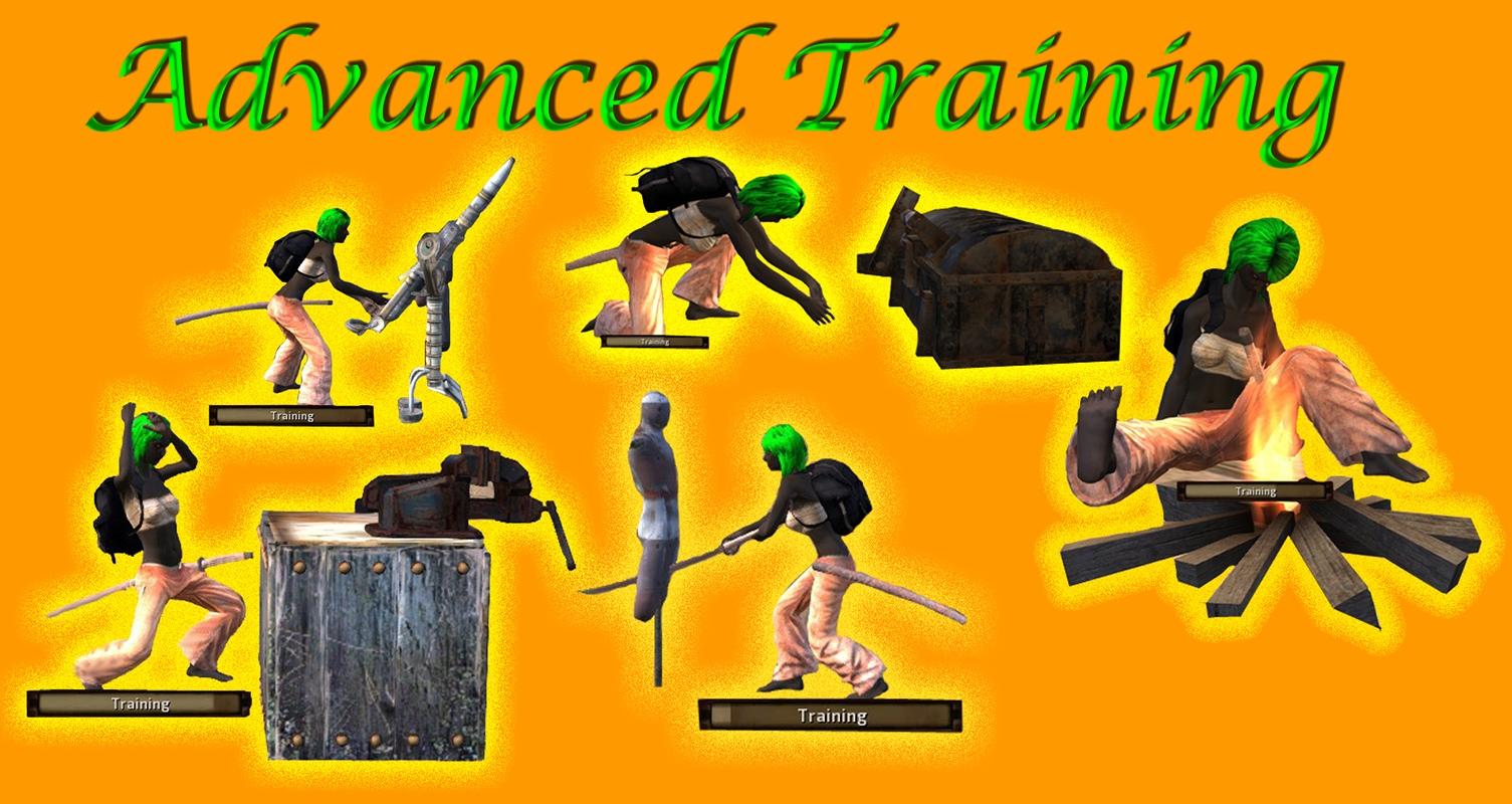 Advanced training dummies / Манекены и оборудование для тренировки
