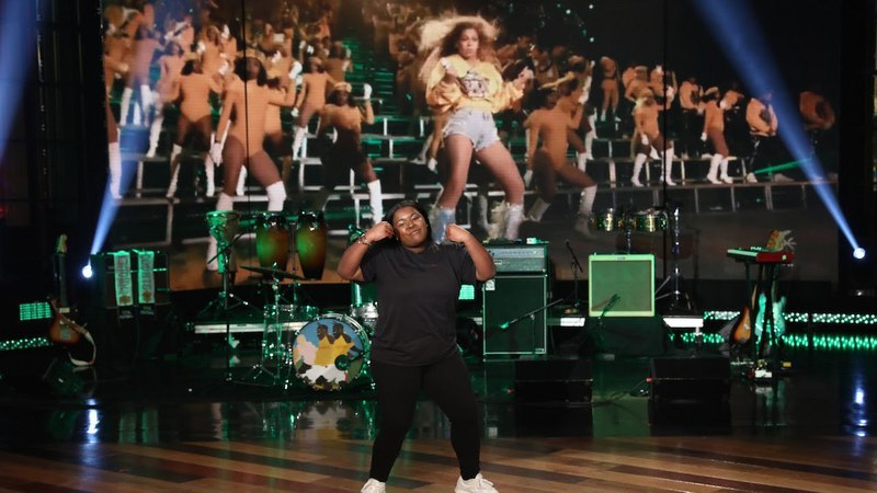 College Student Wows with Her Beychella Moves
