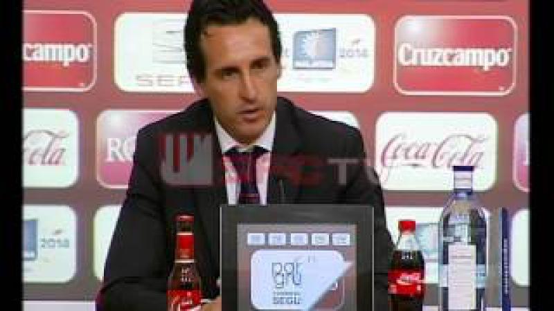 Unai Emery: HEMOS BUSCADO LA VICTORIA, PERO EL EMPATE ES JUSTO Sevilla FC
