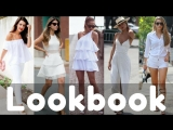 Trendy Summer White Dresses  Outfits Collection 2018  Summer Lookbook