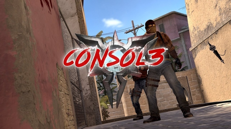 CSGO c0Ns0l3_4k_with glock_mirage faceit game
