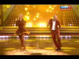 Танцы со звёздами. Алёна Водонаева и Евгений Папунаишвили. 02.11.13.