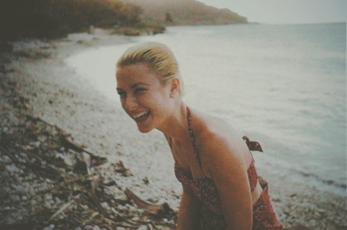 Серия фотографий с отдыха Грейс Келли на Ямайке.