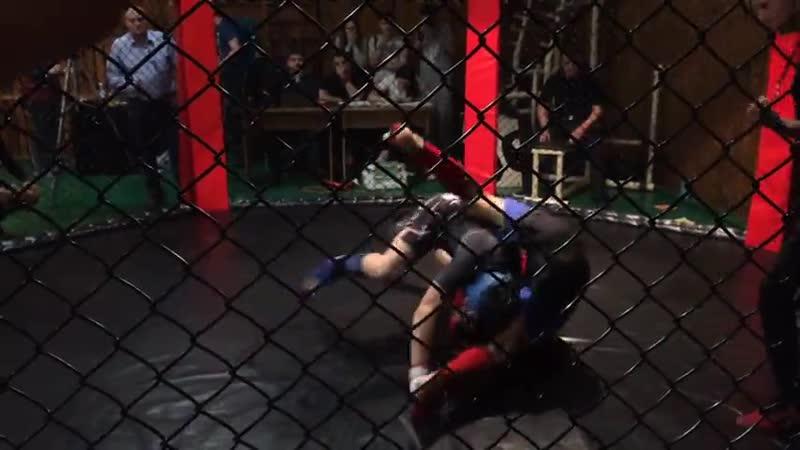 Открытый турнир Бойцовского Клуба Сибирь по Панкратиону Куртуков Никита 84 кг (1)