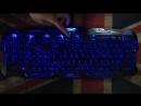 Игровая клавиатура Metoo с подсветкой LED