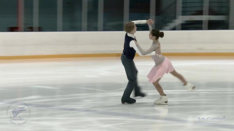 Анастасия Вербина Андрей Какараза СПб СШОР ФК 20180228 Ice Champ SPb D 1S SP