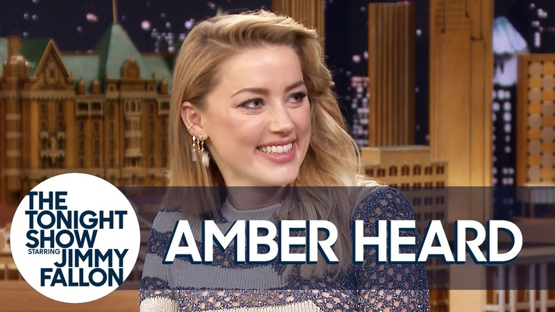 Jason Momoa Ripped the Last Pages Out of Amber Heard's Books on the Aquaman Set