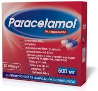 Обезболивающие таблетки парацетомол