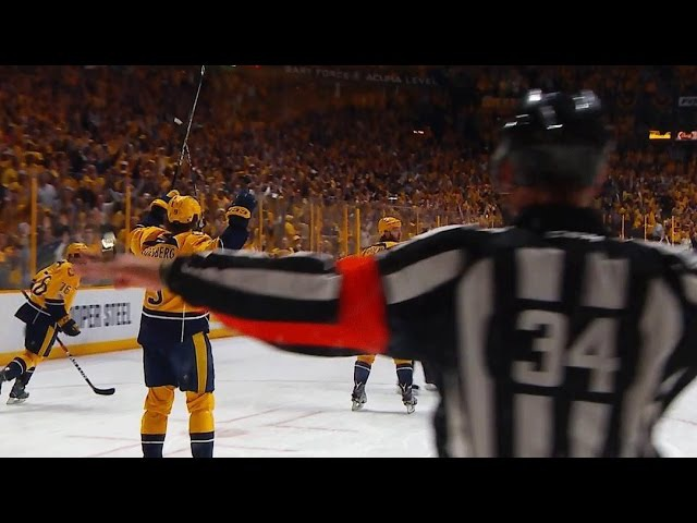 Predators have back-to-back goals waived off due to goaltender interference