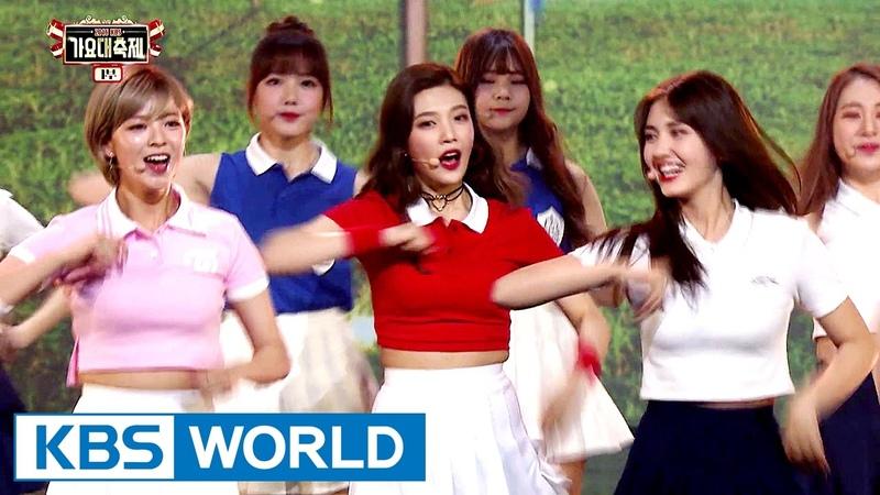 Girls Present - GFRIEND,I.O.I,TWICE,Red Velvet [2016 KBS Song Festival 2017.01.01]