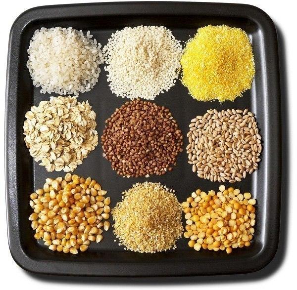 Из любой крупы можно приготовить вкусную полезную кашу и множество других блюд.  Каша