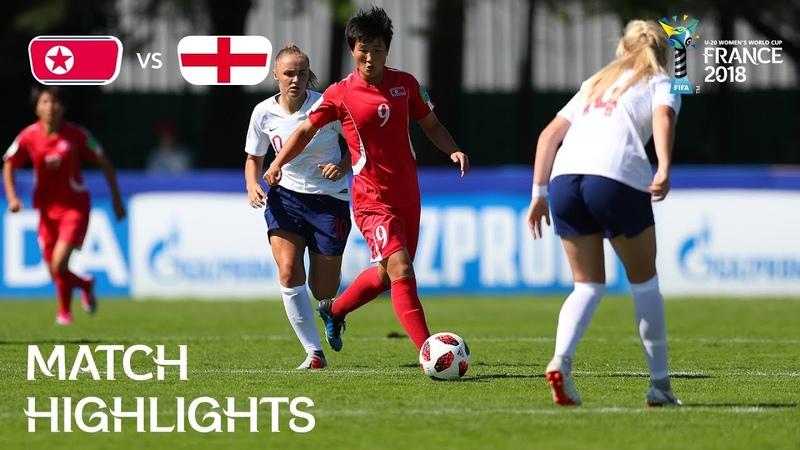 Korea DPR v. England - FIFA U-20 Women's World Cup France 2018- Match 3
