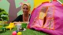 Barbie oyunu Kamp yeri hazırlıyoruz Kız videosu
