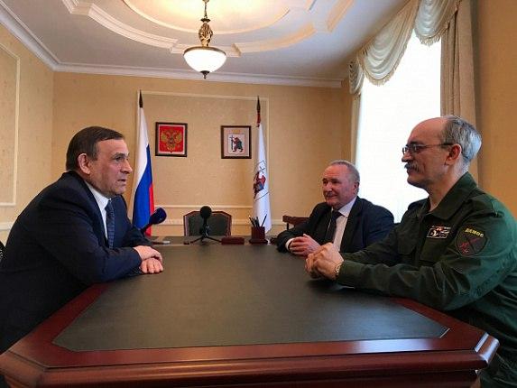 Глава Марий Эл встретился с доверенными лицами Владимира Путина
