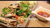 HOW TO MAKE EASY APPETIZERS THAI HEALTHY TUNA SALAD(MIANG TUNA) l