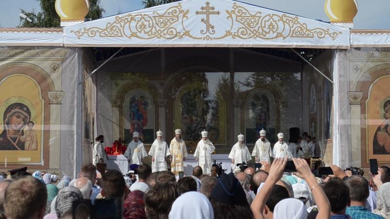 патриарх Кирил в Котласе