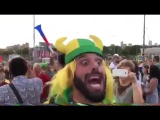 Фанаты сборной Бразилии высказали все, что они думают о нашей стране