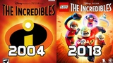 Evolution of the The Incredibles Games 2004-2018