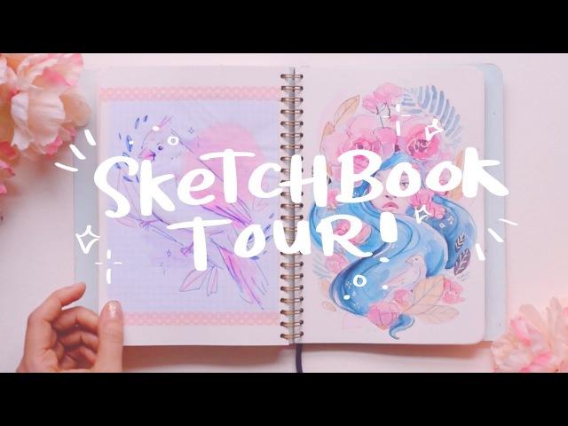 Sketchbook Tour - Mossery 2016-2017