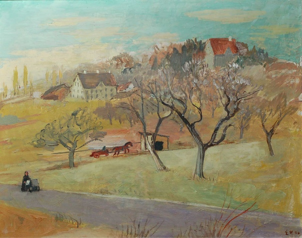 Ernst Morgenthaler ( 1887 - 1962, Швейцария)