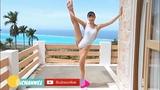 Japanese gravure idol 2018 jav idol cosplay hot bikini girl stretching