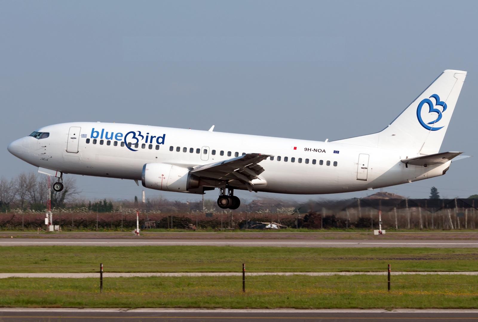 Boeing 737 компании Bluebird Airlines