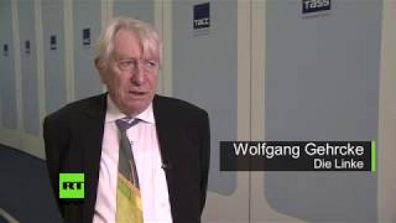 Wolfgang Gehrcke Kiewer Donbass-Gesetz ist Kriegsgesetz und daher langfristig unzulässig