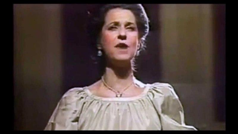 AGNES BALTSA Non più mesta by Gioacchino Rossini ~ 1979
