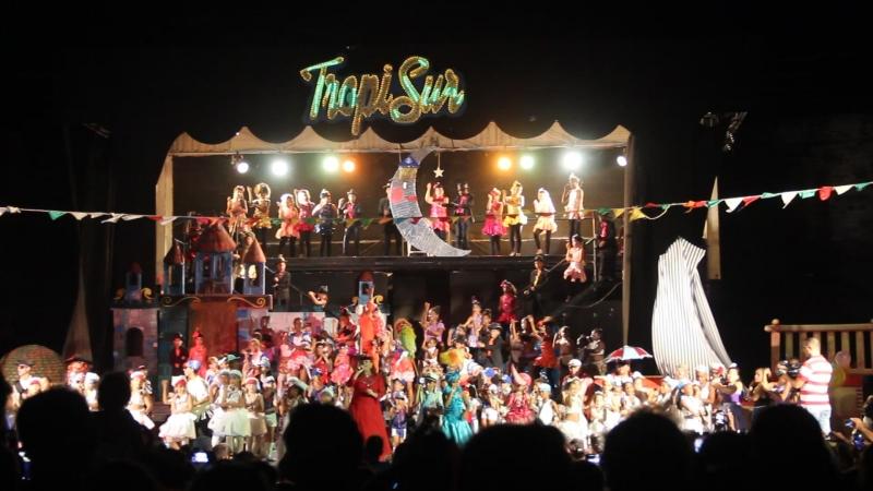 Куба, карнавал в Сьенфуэгосе