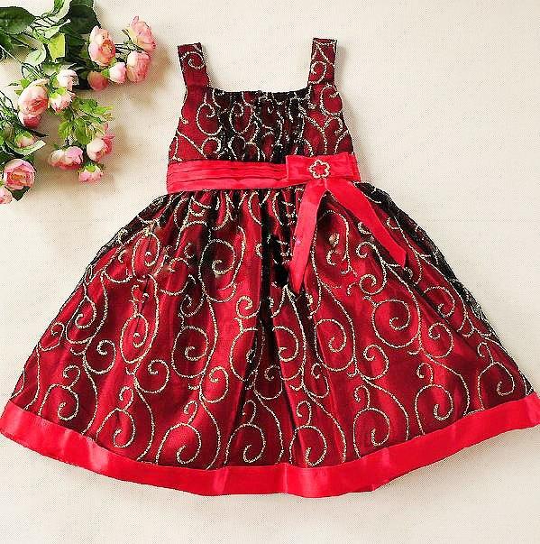 Нарядные детские платья для девочек
