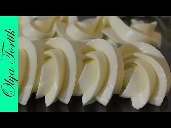 КРЕМ ПЛОМБИР для тортов и пирожных Подробный рецепт