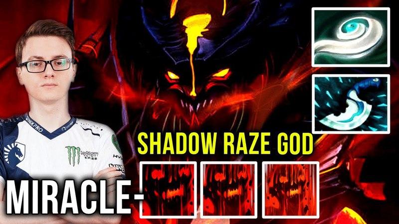 Miracle- Shadow Fiend RAZE GOD like YaphetS - Blink Euls Combo - Dota 2