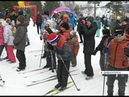 На лыжи сотни красноярцев и дивногорцев приняли участие в массовых лыжных стартах