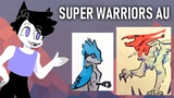 Warrior Cats with Super Powers - SUPER WARRIORS AU