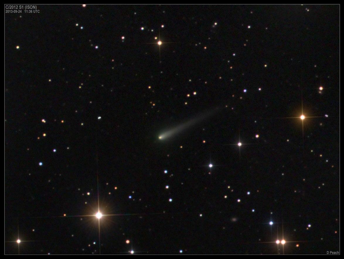 Комета ISON наближається